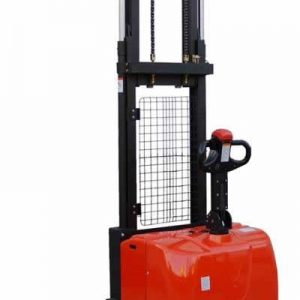 Electric Powered Straddle Stacker